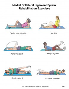 mcl lcl exercises